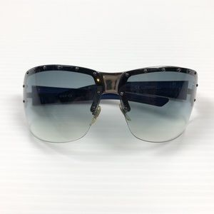 Gucci Unisex Blue Logo Sunglasses Shades